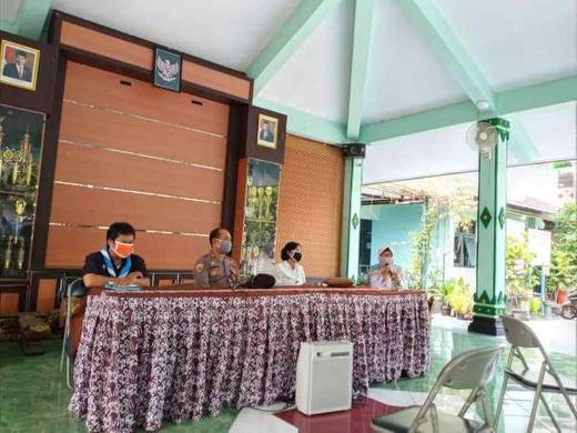 Gugus Tugas Covid-19 DIY Lakukan Koordinasi di Kecamatan Mergangsan