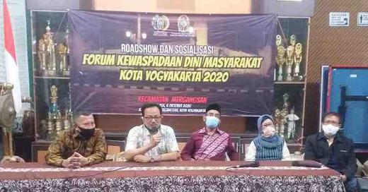 Wakil Walikota Yogyakarta : Tingkatkan Kewaspadaan di masa Pandemi Covid-19