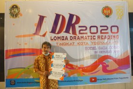 Kontingen Kecamatan  Mergangsan Raih Juara Umum Lomba Dramatic Reading Tingkat Kota Yogyakarta Tahun 2020