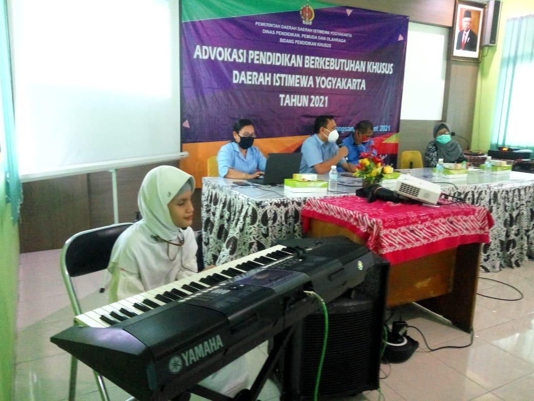 Advokasi Pendidikan Khusus Daerah Istimewa Yogyakarta Tahun 2021