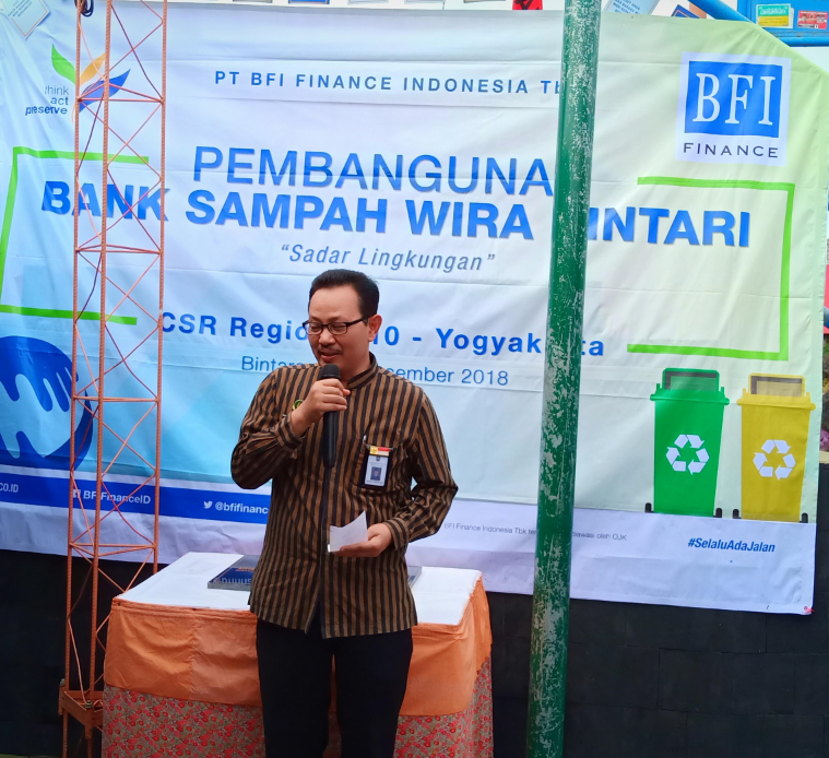Sambutan Wakil Walikota Yogyakarta